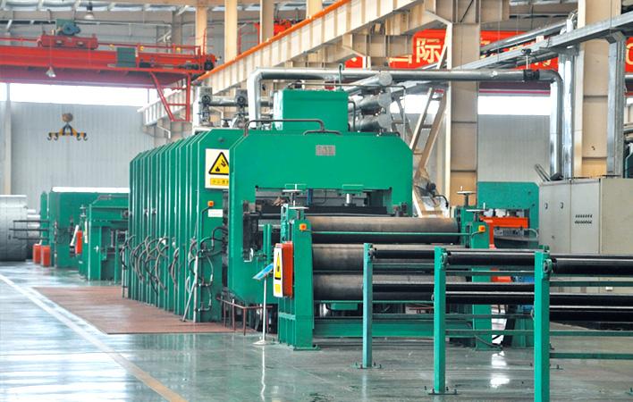 1.2米/1.8米织物芯分层输送带生产线